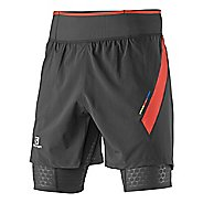Mens Salomon S-Lab Exo Twinskin 2 in 1 Shorts