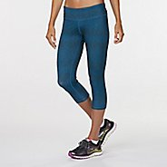 "Womens R-Gear Leg Up Printed 19"" Capri Legging Tights"