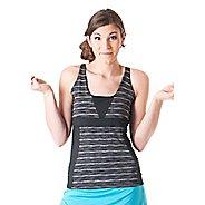 Womens Skirt Sports Electric Sleeveless & Tank Technical Tops - Streak L