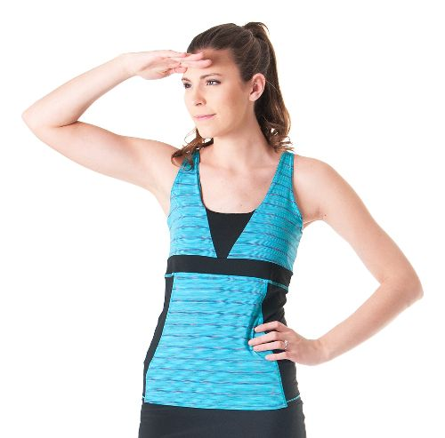 Womens Skirt Sports Electric Sleeveless & Tank Technical Tops - Reflection L