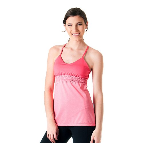 Womens Skirt Sports Vixen Bra Tank Technical Tops - Flirt/Flirty Heather XS