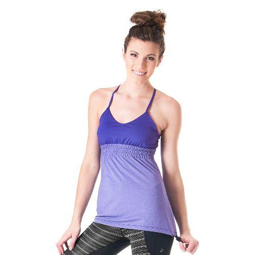 Womens Skirt Sports Vixen Bra Tank Technical Tops - Flirt/Flirty Heather M