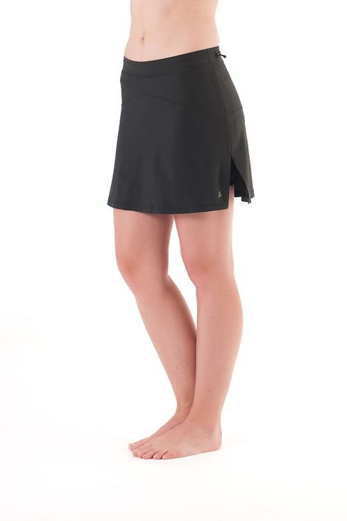 Womens Skirt Sports High Five Skort Fitness Skirts - Black S