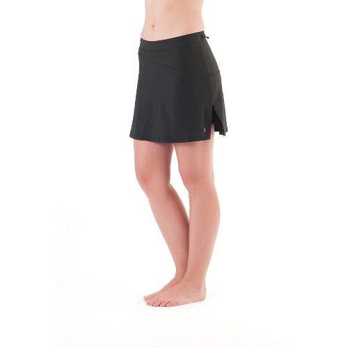 Womens Skirt Sports High Five Skort Fitness Skirts - Black M
