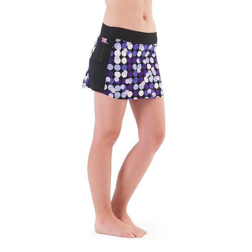 Womens Skirt Sports TRIKS Original Marathon Girl Skort Fitness Skirts - Pop-arazzi Print S