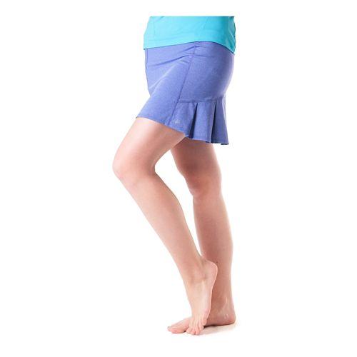 Womens Skirt Sports Jaguar Skort Fitness Skirts - Purple Heather L