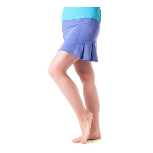 Womens Skirt Sports Jaguar Skort Fitness Skirts - Purple Heather XS