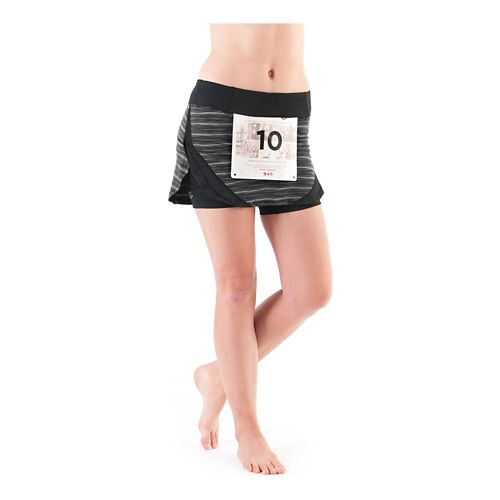 Womens Skirt Sports Race Magnet Skirt with Shorties Skort Fitness Skirts - Streak L
