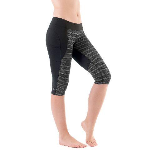 Womens Skirt Sports Redemption Knickers Capri Tights - Streak/Black S