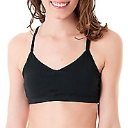 Womens Skirt Sports Everyday A/B/C Active Sports Bras - Black S