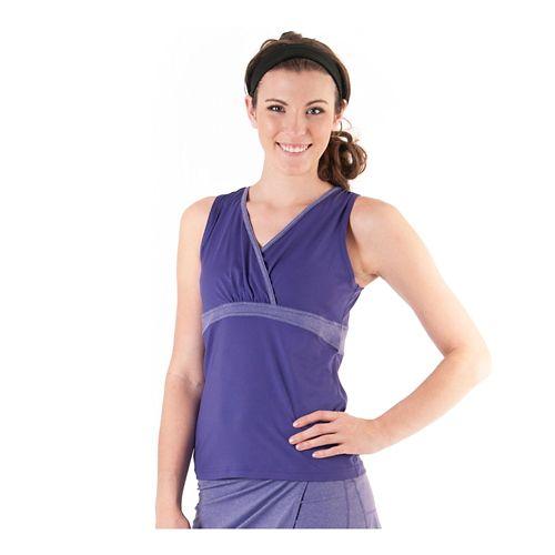 Womens Skirt Sports 261 Diana Tank Sleeveless Technical Tops - Fearless Purple XXL