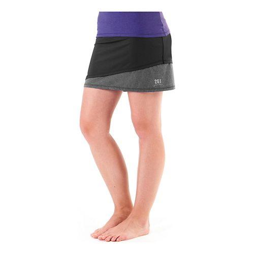 Womens Skirt Sports 261 Switzer Skort Fitness Skirts - Black L