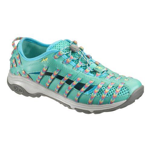 Womens Chaco Outcross Evo 2 Hiking Shoe - Fiesta 11