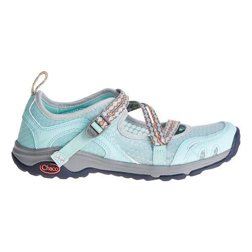 Womens Chaco Outcross EVO MJ Hiking Shoe - Quinto Blue 7.5