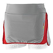 Womens Salomon S Skort Lab Exo Twinskin Fitness Skirts Skort