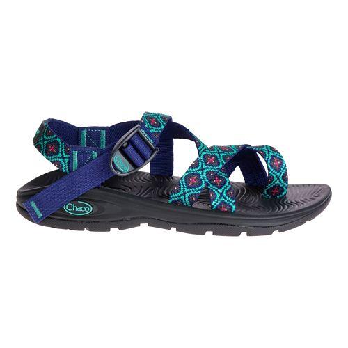 Womens Chaco Z/Volv 2 Sandals Shoe - Mosaic Cobalt 5