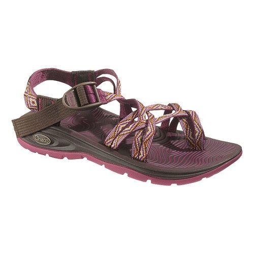 Womens Chaco Z/Volv X2 Sandals Shoe - Pink Diamonds 11