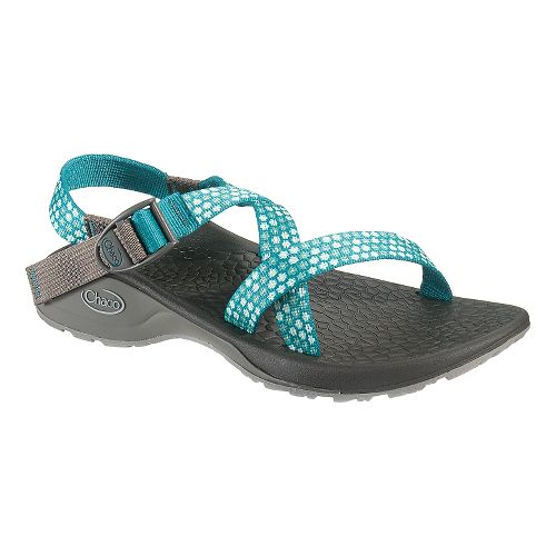Womens Chaco Updraft Ecotread Sandals Shoe - Teal Beams 10