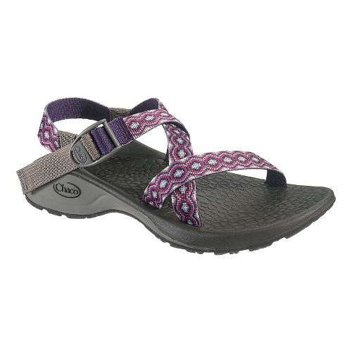 Womens Chaco Updraft Ecotread Sandals Shoe - Violet Rings 11