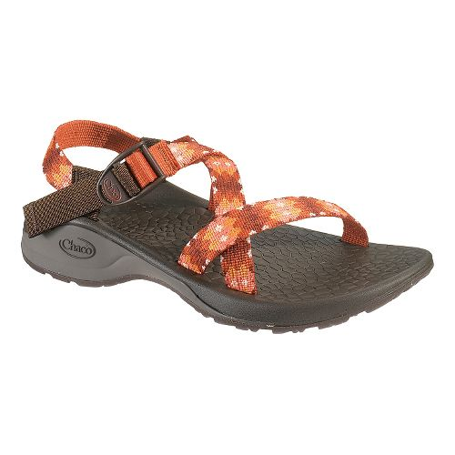 Womens Chaco Updraft Ecotread Sandals Shoe - Quilted Fiesta 8