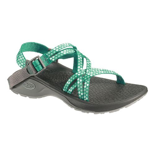 Womens Chaco Updraft Ecotread X Sandals Shoe - Teal Beams 8