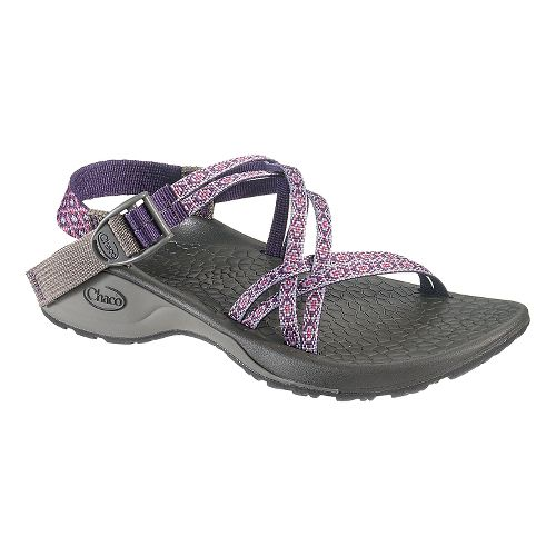 Womens Chaco Updraft Ecotread X Sandals Shoe - Violet Rows 11