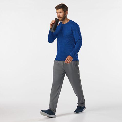 Mens Road Runner Sports Trail Blazing Track Full Length Pants - Steel L