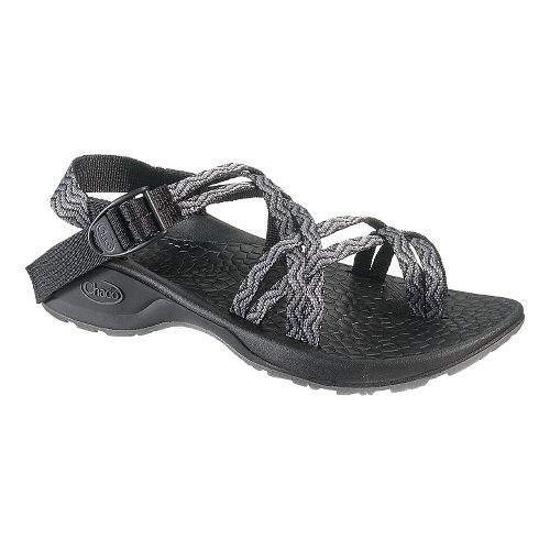 Womens Chaco Updraft Ecotread X2 Sandals Shoe - Black Waves 10