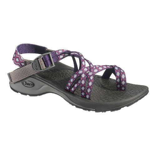 Womens Chaco Updraft Ecotread X2 Sandals Shoe - Violet Rings 8