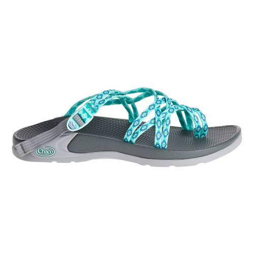 Womens Chaco Zong X Sandals Shoe - Aruba Aqua 10