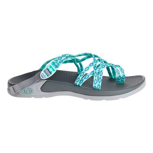 Womens Chaco Zong X Sandals Shoe - Aruba Aqua 8