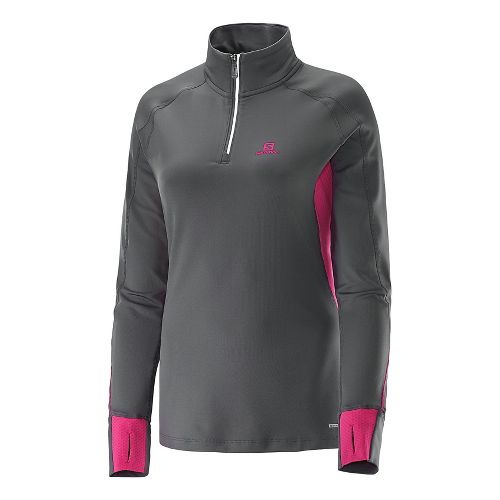 Women's Salomon�Trail Runner Warm LS Zip Tee