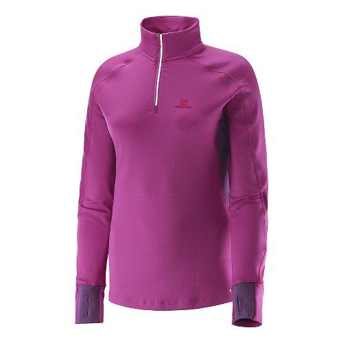 Women's Salomon�Trail Runner Warm LS Zip Tee