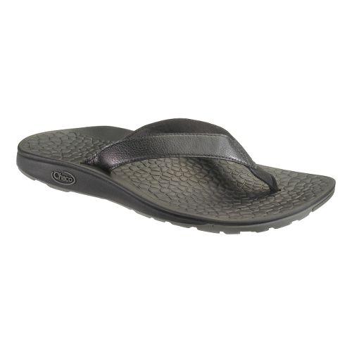 Womens Chaco Reversiflip Sandals Shoe - Black Two 8