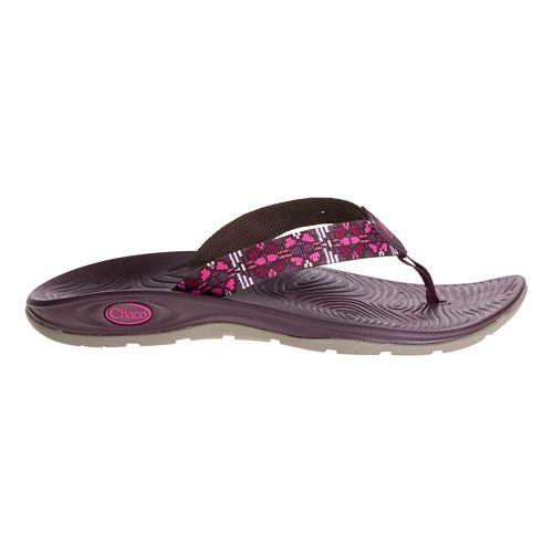 Womens Chaco Z/Volv Flip Sandals Shoe - Florentine Beet Fl 6
