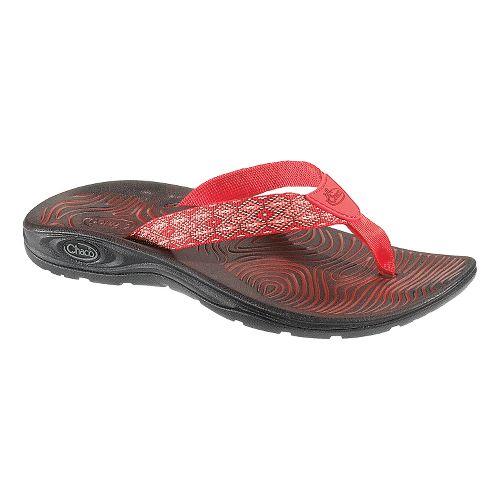 Womens Chaco Z/Volv Flip Sandals Shoe - Textile 9
