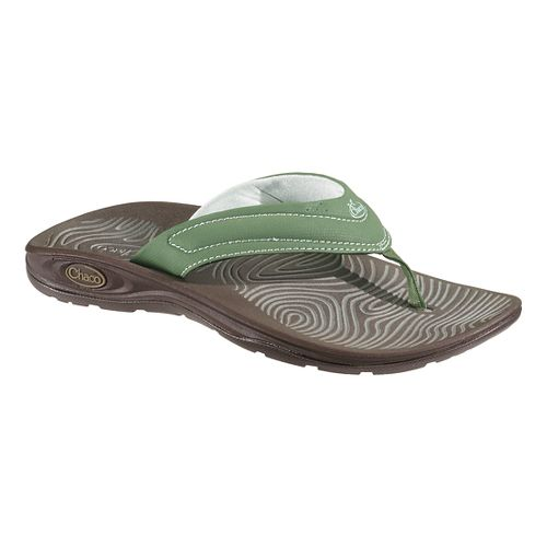 Womens Chaco Z/Volv Flip Synth Sandals Shoe - Vineyard Green 12