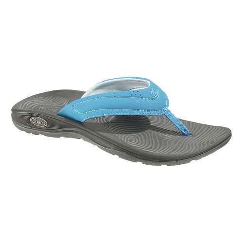 Womens Chaco Z/Volv Flip Synth Sandals Shoe - Blue Moon 8