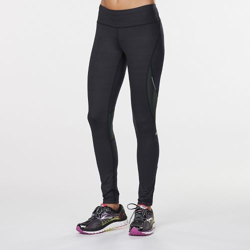 WomensR-Gear SpeedPro Compression Printed Capri Tights - Black Embossed XL