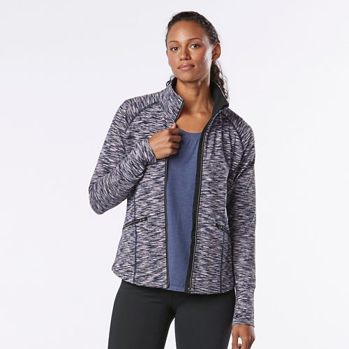 Womens R-Gear Smooth Transition Lightweight Jackets - Black/Storm Blue M