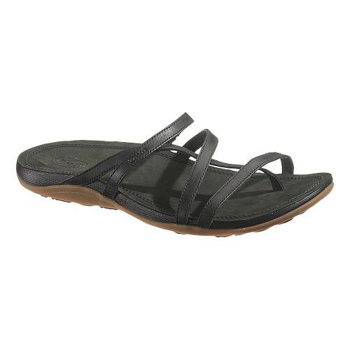 Womens Chaco Cordova Sandals Shoe - Black 8