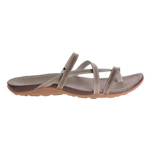 Womens Chaco Cordova Sandals Shoe - Fossil 10