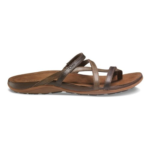 Womens Chaco Cordova Sandals Shoe - Dark Earth 5