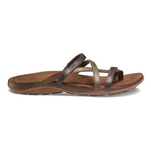 Womens Chaco Cordova Sandals Shoe - Dark Earth 8