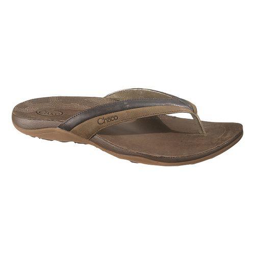 Womens Chaco Abril Sandals Shoe - Dark Earth 12