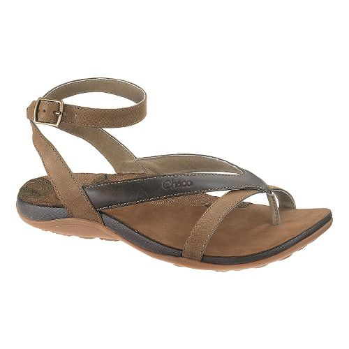 Womens Chaco Sofia Sandals Shoe - Dark Earth 5