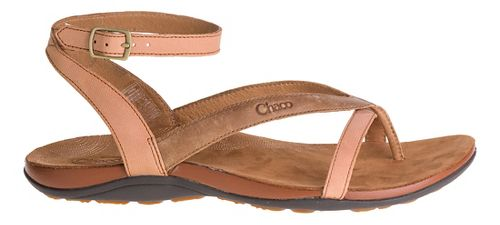 Womens Chaco Sofia Sandals Shoe - Toasted Brown 7