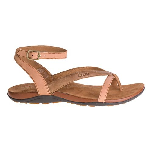 Womens Chaco Sofia Sandals Shoe - Toasted Brown 9