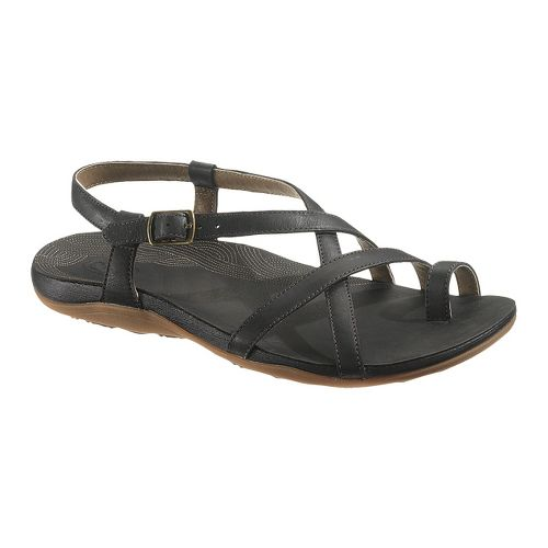 Womens Chaco Dorra Sandals Shoe - Black 5