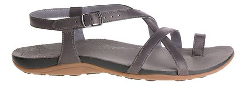 Womens Chaco Dorra Sandals Shoe - Nickel 10